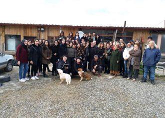 İstanbul Bilgi  Üniversitesi İç Mimarlık bölümü hocaları ve öğrencileri ziyaret ettiler
